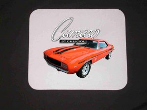 New 1969 Yenko Chevy Camaro Mousepad