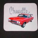 New 1967 Red Chevy Chevelle Mousepad!