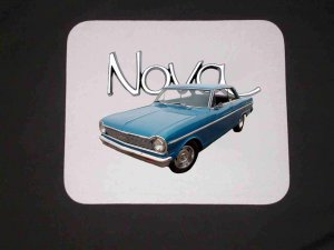 New 1965 Chevy Nova Mousepad!