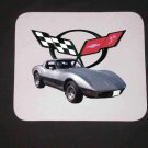 New 1982 Chevy Corvette Silver Anniversary Mousepad!