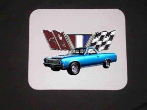 New 1967 Chevy El Camino Mousepad!