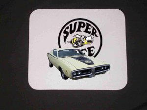 New 1971 Dodge Superbee Mousepad!!