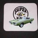 New Green 1970 Dodge Superbee Mousepad!!