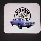 New Purple 1970 Dodge Superbee Mousepad!!