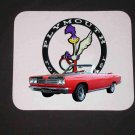New 1969 Plymouth Roadrunner Convertible Mousepad!!