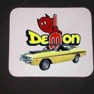 New 1971 Yellow Dodge Demon Mousepad