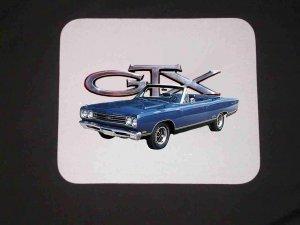 New 1969 Plymouth GTX Convertible Mousepad!!