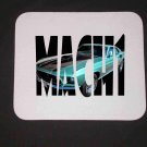 New Green 1969 Ford Mustang Mach 1 in Letters Mousepad!