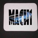 New Blue 1969 Ford Mustang Mach 1 in Letters Mousepad!
