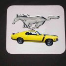New Yellow 1970 Ford Mustang Mousepad!