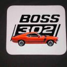 New Red/Orange 1970 Ford Boss Mustang Mousepad!
