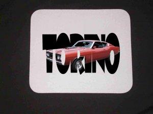 New 1969 Ford Gran Torino Cobra Jet w/letters Mousepad!