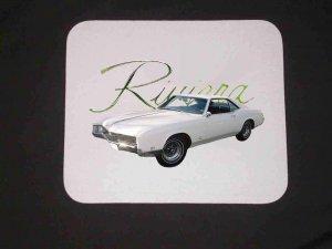 1967 Buick Riviera Mousepad