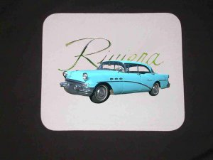 1956 Buick Riviera Special Mousepad
