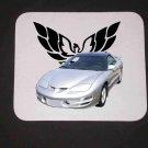 New 2000 Silver Pontiac Trans AM Mousepad!