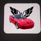 New 2000 Red Pontiac Trans AM WS6 Mousepad!