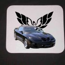 New 2000 Black Pontiac Trans AM WS6 Convertible Mousepad!