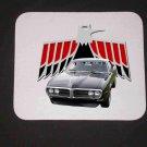 New 1968 Black Pontiac Firebird Mousepad!