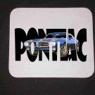 New 1970 Blue Pontiac Formula Firebird w/letters Mousepad!