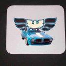 New 1970 Blue Pontiac Trans AM Mousepad!