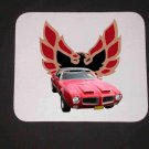 New 1971 Red Pontiac Formula Firebird Mousepad!