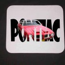 New 1971 Red Pontiac Formula Firebird w/ letters Mousepad!