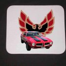 New 1971 Red/Black Pontiac Formula Firebird Mousepad!