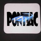 New 1972 Blue Pontiac Trans AM w/ letters Mousepad!