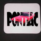 New 1972 Red Pontiac Formula Firebird w/ letters Mousepad!