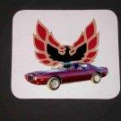 New 1973 Maroon Pontiac Formula Firebird Mousepad!