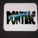 New 1973 Green Pontiac Trans AM w/ letters Mousepad!