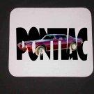 New 1973 Maroon Pontiac Formula Firebird w/ letters Mousepad!