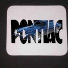 New 1974 Blue Pontiac Trans AM no Eagle w/ letters Mousepad!