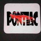 New 1974 Red Pontiac Formula Firebird w/ letters Mousepad!