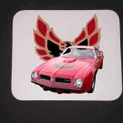 New 1974 Red Pontiac Trans AM Mousepad!