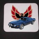 New 1974 Blue Pontiac Trans AM no Eagle Mousepad!