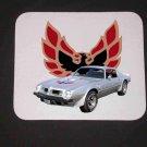 New 1975 Silver Pontiac Trans AM Mousepad!