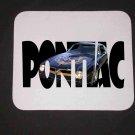 New 1976 Black Pontiac Trans AM SE w/ letters Mousepad!