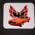 New 1976 Red/Orange Pontiac Trans AM Mousepad!