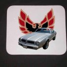 New 1976 Silver Pontiac Firebird Mousepad!