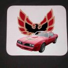 New 1977 Red Pontiac Trans AM Mousepad!