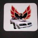 New 1977 White Pontiac Firebird Mousepad!