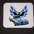 New 1978 Blue Pontiac Trans AM Mousepad!
