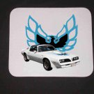 New 1978 White Pontiac Firebird Mousepad!