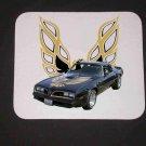 New 1978 Black Pontiac Trans AM Mousepad!