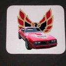 New 1978 Red Pontiac Trans AM Mousepad!