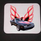 New 1978 Black/Red Pontiac Bandit Trans AM Mousepad!