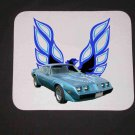 New 1979 Blue Pontiac Trans AM Mousepad!