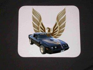 New 1979 Black Pontiac Trans AM Mousepad!