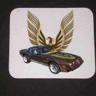 New 1979 Brown Pontiac Trans AM Mousepad!